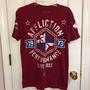 Affliction T-Shirt Size Small Excellent Condition